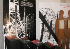 Exhibition documenting the communist work camps in Jáchymov