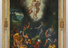 Ascension of Christ, the epitaph painting from the church in Jáchymov, 1598