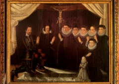 Epitaph picture of the  Kokořovec family