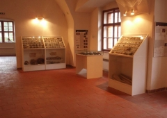 Exhibition of geology and mineralogy