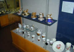 The collection of porcelain manufactured in the Karlovy Vary region