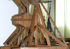 The model of the medieval ballista